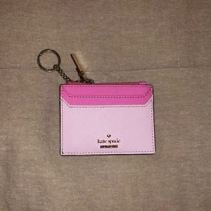 Kate space coin zip pouch